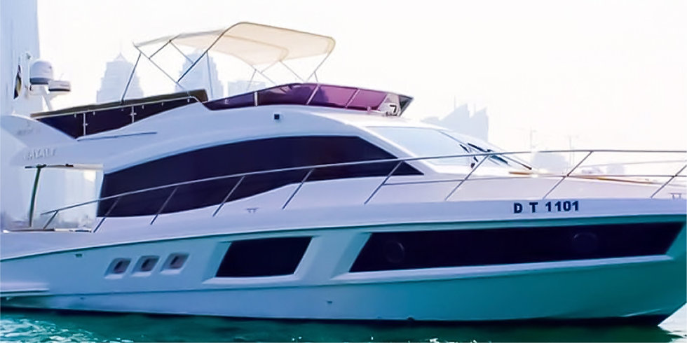 48FT Luxury Private Yacht up to 02 HRS