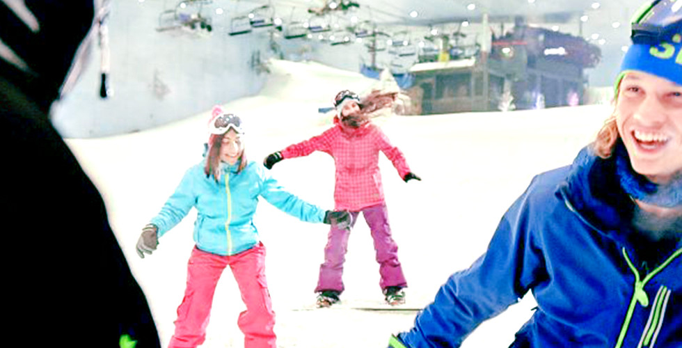 Ski Dubai, Snow Park Resort, Indoor Ski