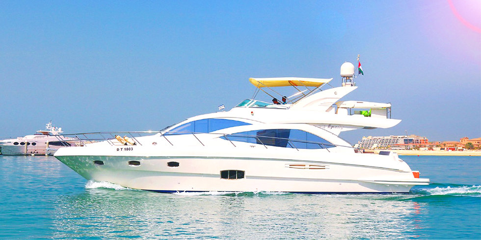 56FT Luxury Private Yacht in The Palm up to 02 HRS