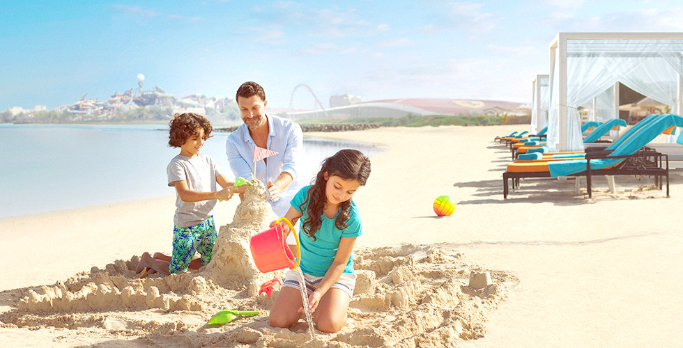 Staycation Offer for 3 Days & 2 Nights Stay at 4* Crowne Plaza Yas Island with free access to any 2 parks including Ferrari World, Yas Water World and Warner Bros from AED 1,390