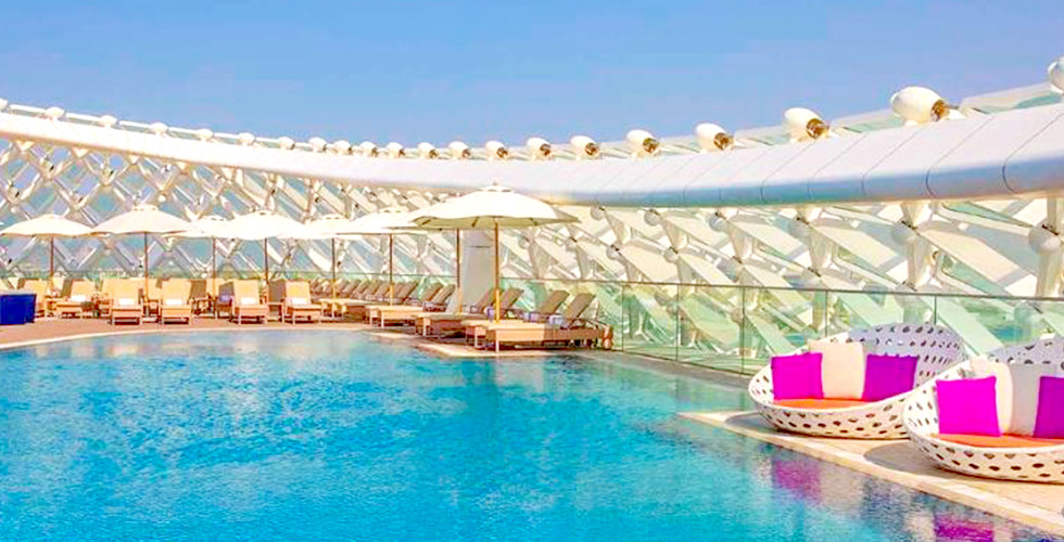 W Hotel Abu Dhabi Yas Island for 2 Nights and 1 Night Stay up to 03 Adults