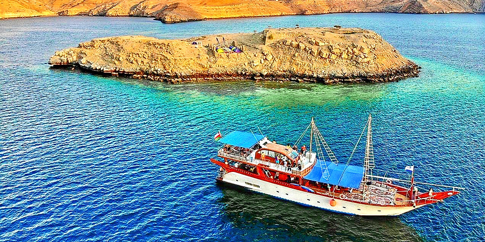 Full Day Dibba Dhow Cruise per adult with transfer