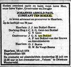 ten bokkel overlijden De Telegraaf 20 07