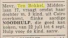 ten bokkel HD 22 06 1956 getrouwde docht