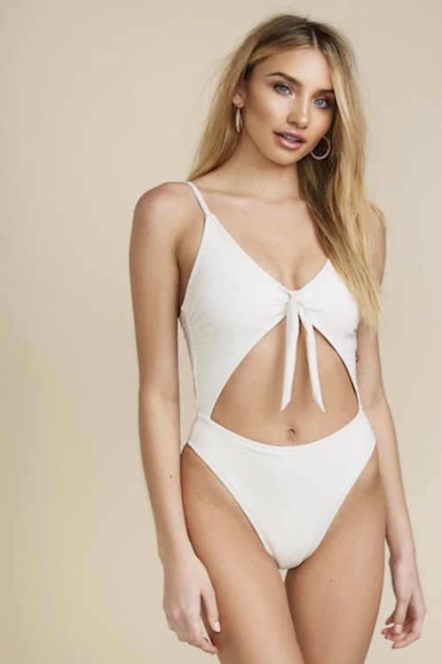 Ivory Cut Swimsuit