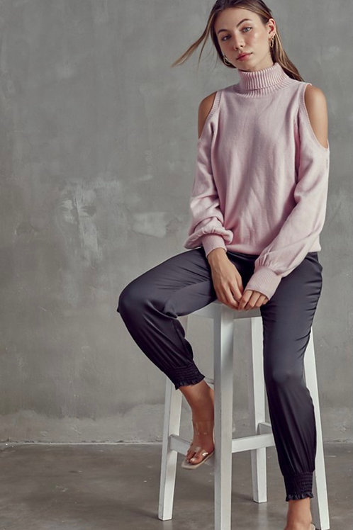 Rose Cut Out Sweater