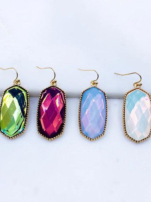 Hexagon Earrings