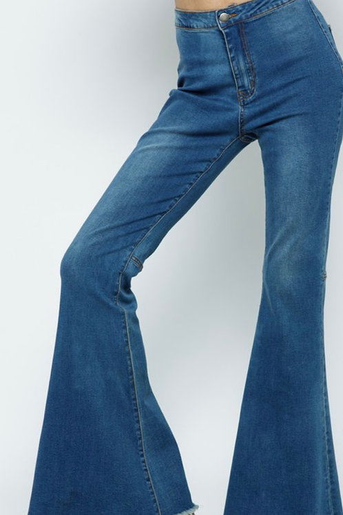 Fringe Denim Jeans