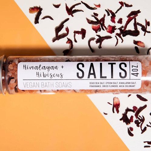 Himalayan & Hibiscus Bath Salts