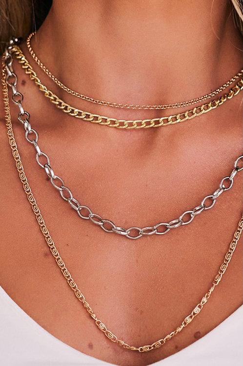 All Metals Necklace