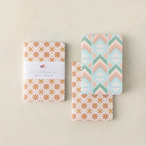 Desert Tile Mini Journal Set