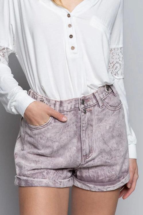Plum Stone Shorts