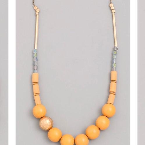 Mustard Beach Necklace