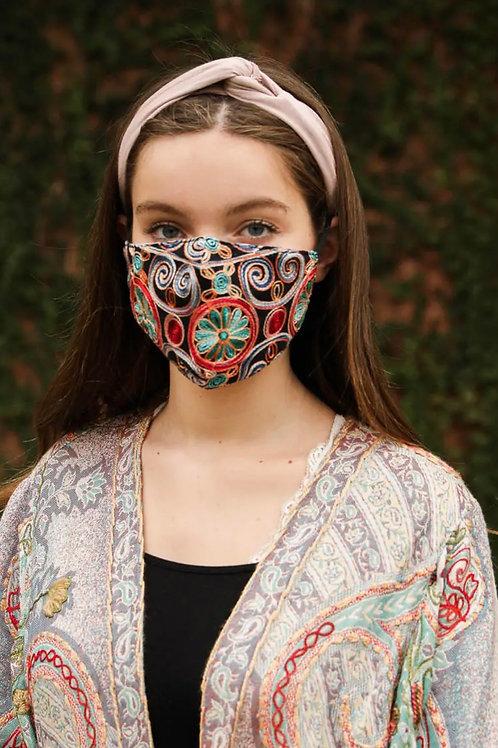 Swirls Mask