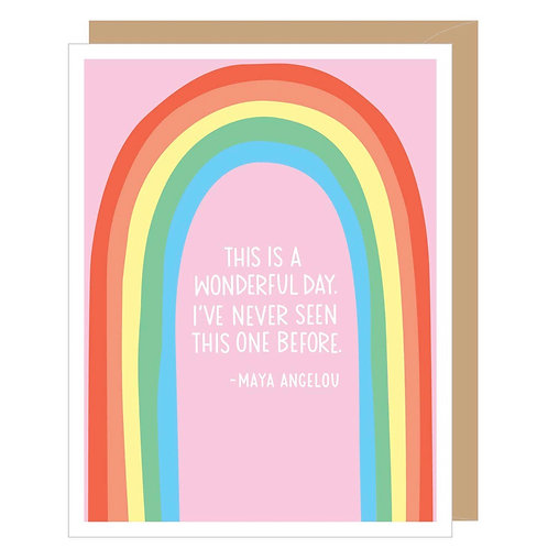 Maya Angelou Quote Card