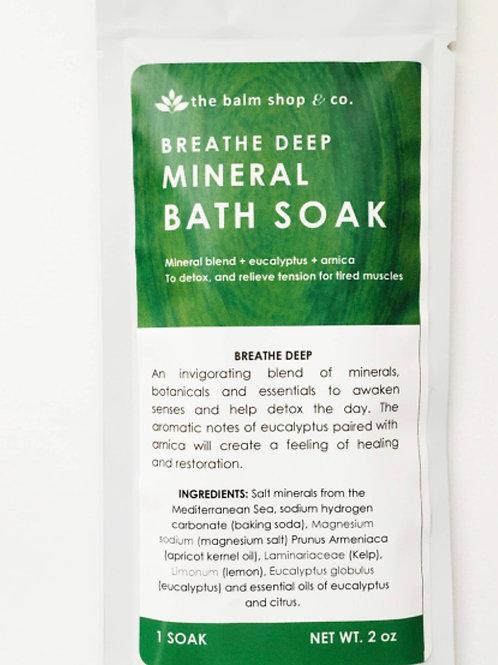 Breathe Deep Mineral Bath Soak