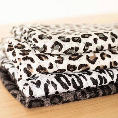 Leopard Pashmina Scarf