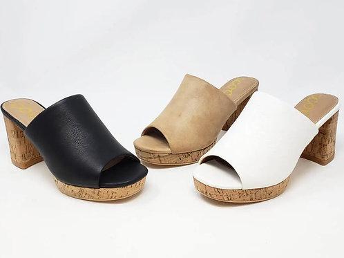 Carine Sandals (white)
