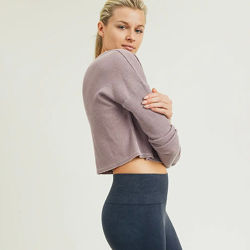 Notched Pullover