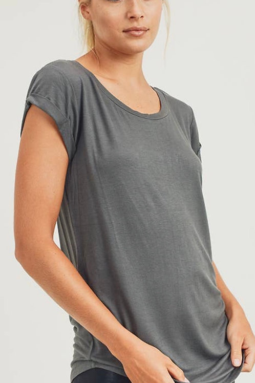 Capped Sleeve Top