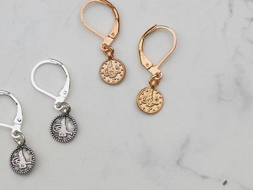 Silver Christina Earrings