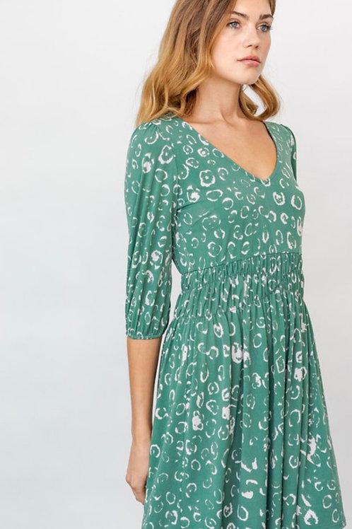 Jade Abstract Dress