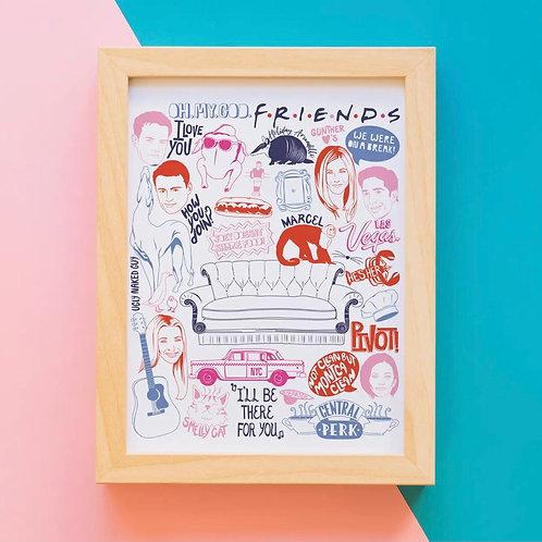 Friends Print