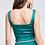 Thumbnail: Emerald Satin Set (Top & Skirt)