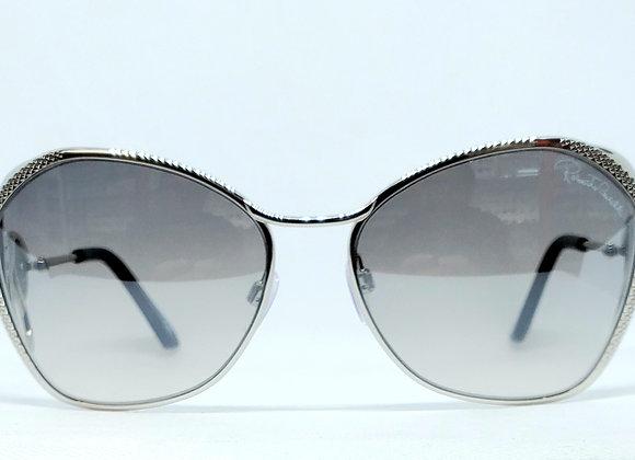 Roberto Cavalli Gavorrano 1062-16C Sunglasses Silver/Smoke