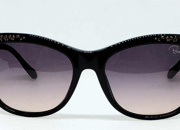 Roberto Cavalli 991 Sunglasses Black/Gold