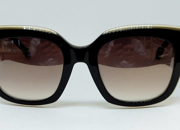 Roberto Cavalli Grosseto 1069-05G Sunglasses Two-Toned Black/Brown Gradient
