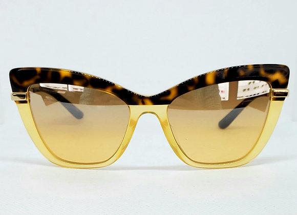 Dolce & Gabbana DG4374-F 3267/7H Sunglasses Tortoiseshell