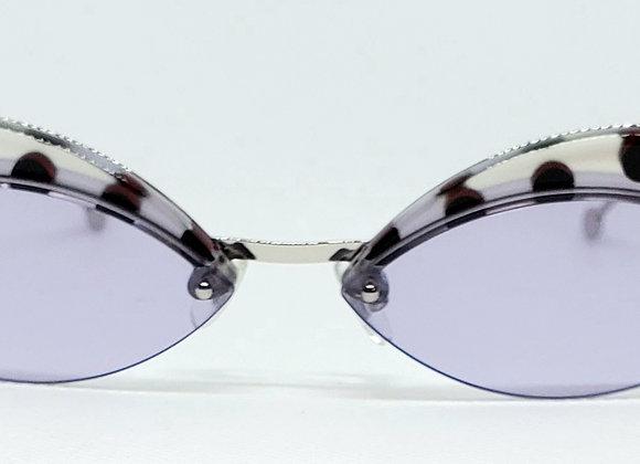 Fendi FF0370-S Defender Sunglasses Lilac/Silver