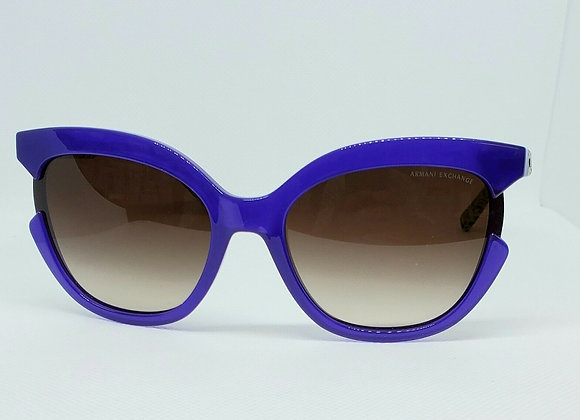 Armani Exchange AX4065S-822213 Sunglasses Opal Violet