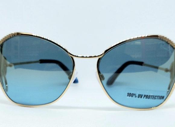 Roberto Cavalli Gavorrano 1062-32X Sunglasses Gold/Blue