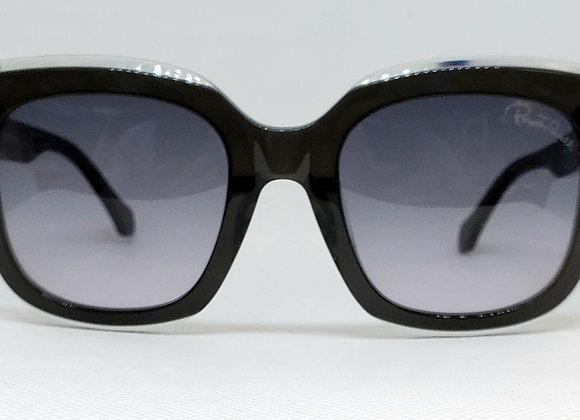 Roberto Cavalli Grosseto 1069-05B Sunglasses Two-Toned Black/Smoke Gradient