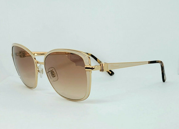 Chopard SCHB69S Sunglasses Pearl/Gold
