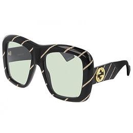 Gucci GG0498S-006 Rhinestone Black/Green Limited Edition