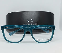 Armani Exchange AX3002-8034 Eyeglass Frame Poseidon Blue