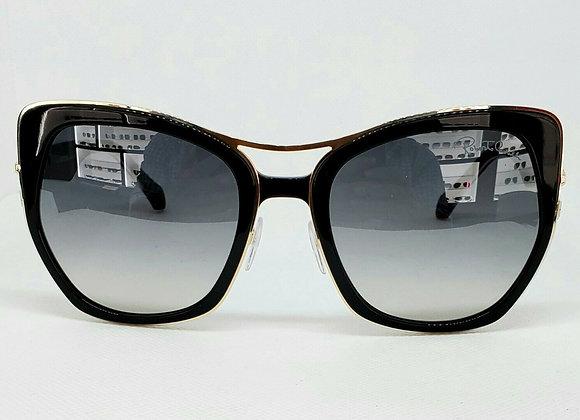 Roberto Cavalli Montespertoli 1093-01C Sunglasses Black/Gold