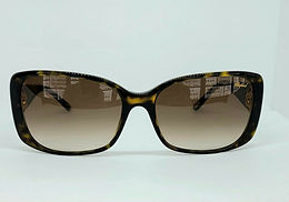 Chopard SCH132S Sunglasses Black/Gold Accent