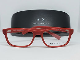 Armani Exchange AX3021-8155 Eyeglass Frame Red