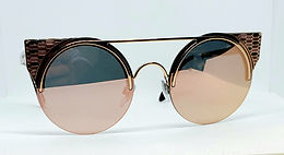 Bulgari 6088 Sunglasses Gold/Gold/Gold Deco