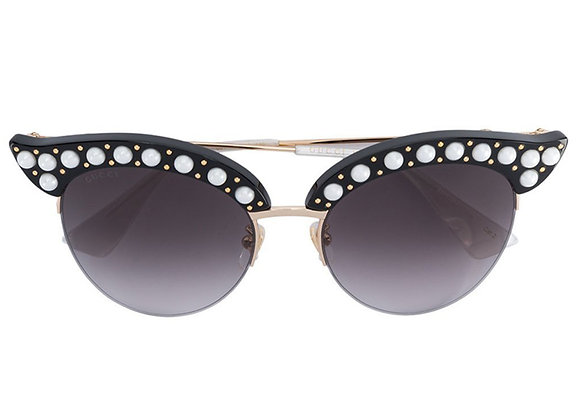 Gucci Pearl Cat Eye GG0212S-001 LIMITED EDITION
