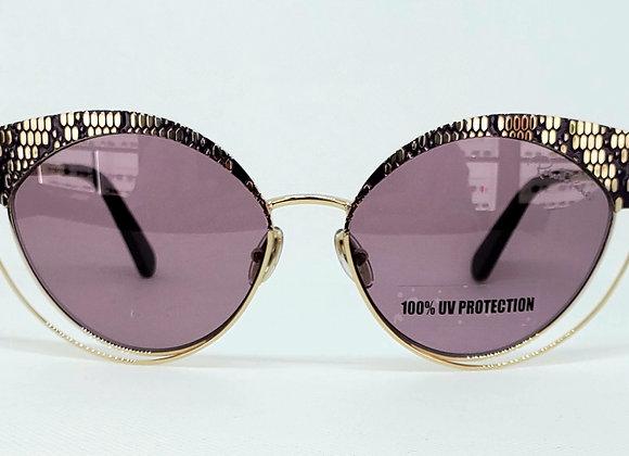 Roberto Cavalli RC 1125-32Y Sunglasses Gold/Lilac