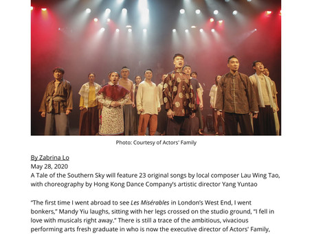 Actors' Family Brings Cantonese Musicals To New Heights With A Brand New Original