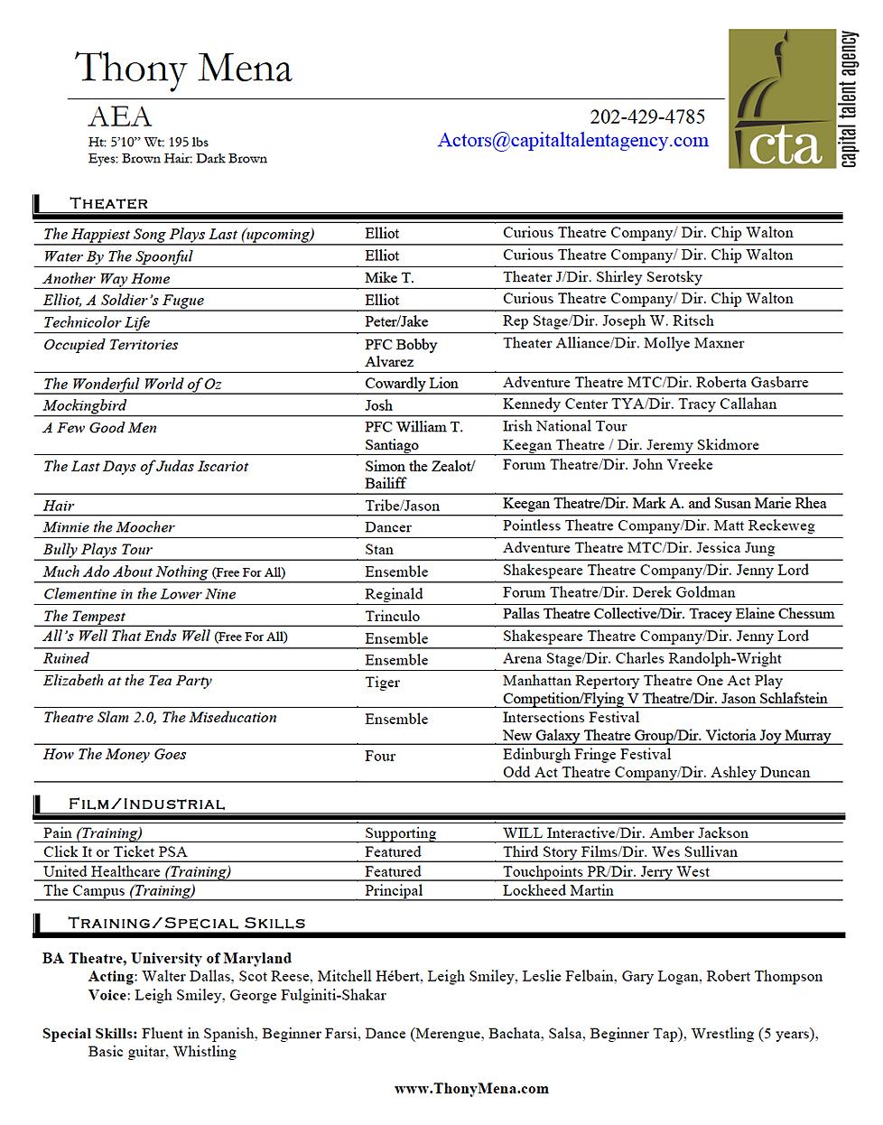 Cengage Advantage Books: Essentials of Business talent resume ...