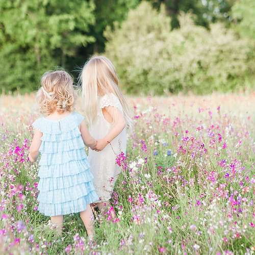 Davis' Girls Wildflower Field
