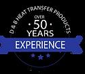 Heat Transfer 50 years badge