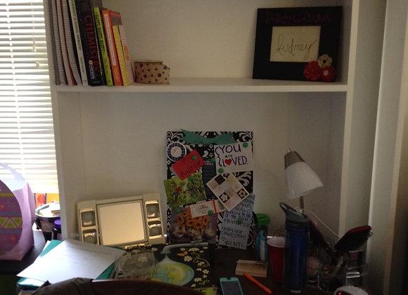 Desk Shelf - two semesters